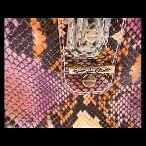 Alice + Olivia snakeskin purse (limited edition)
